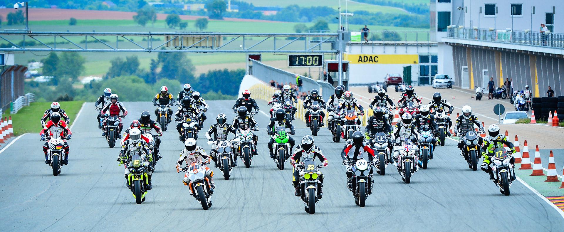 Triumph Street Triple-Cup Start Sachsenring 2014